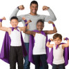 Russell Wilson with children, Strong for Cancer